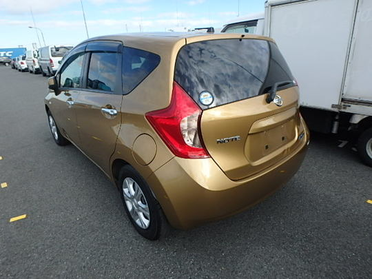 2013 Nissan Note Medalist